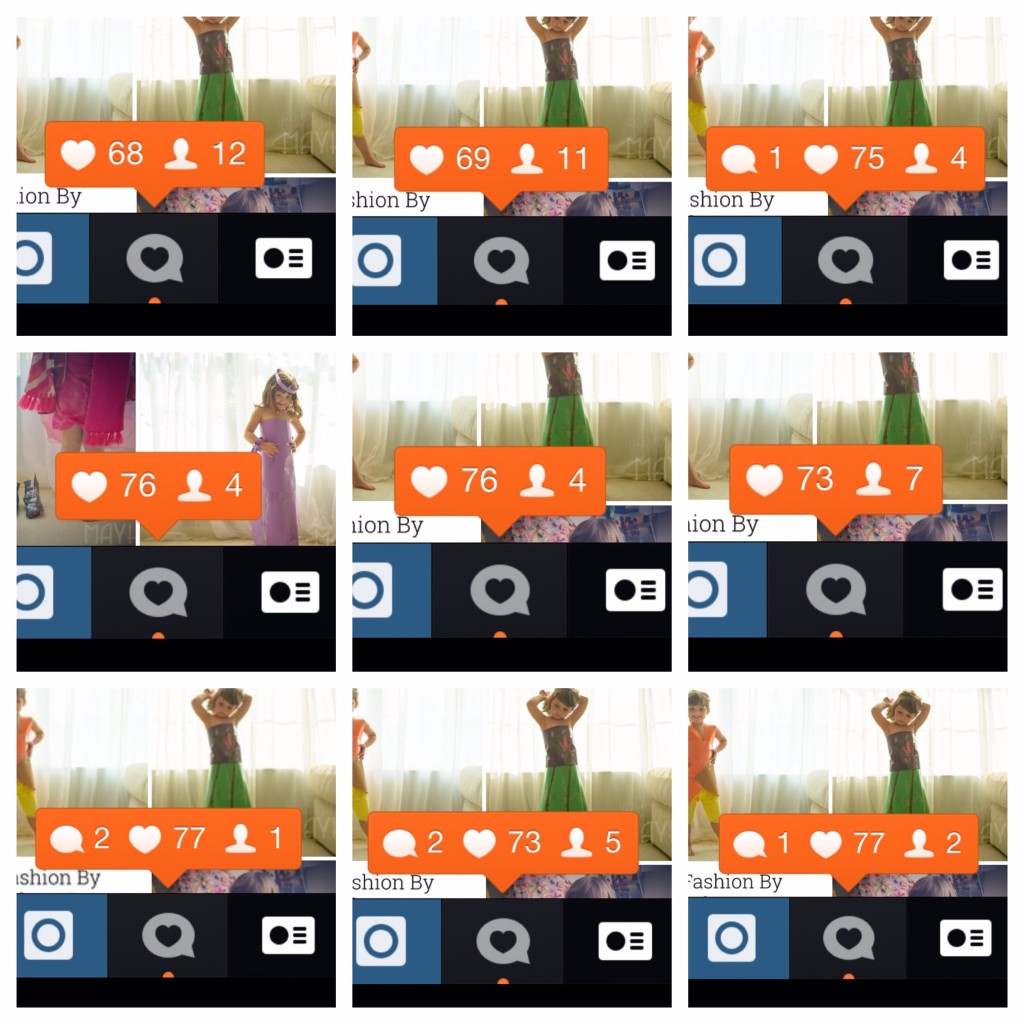 The current limit on Instagram notifications